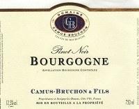 Camus-Bruchon Bourgogne 2018