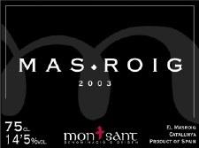 Celler el Masroig Masroig 2003