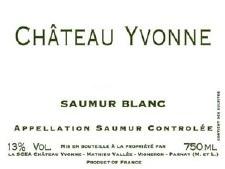 Chateau Yvonne Saumur Blanc 2018