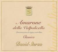 David Sterza Amarone della Valpolicella Classico 2010