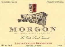 Desvignes Morgon La Voute Saint-Vincent 2017