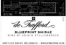 deTrafford Blueprint Shiraz 2008