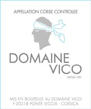 Domaine Vico Vin de Corse Blanc Vermentino 2018