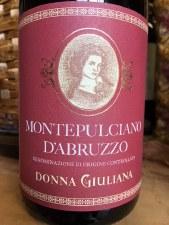 Donna Giuliana Montepulciano d'Abruzzo 2018