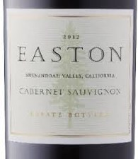 Easton Cabernet Sauvignon 2012