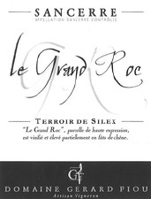 Gerard Fiou Sancerre Le Grand Roc 2015
