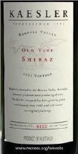 Kaesler Old Vine Shiraz 2003