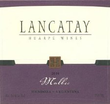 Lancatay Malbec 2010