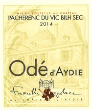 Laplace Odé d'Aydie Pacherenc de Vic Bilh 2016