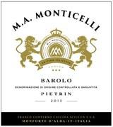 M.A. Monticelli Barolo Pietrin 2013