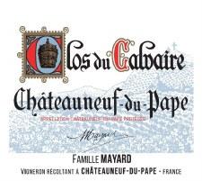 Mayard Chateauneuf-du-Pape Clos du Calvaire 2018
