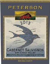 Peterson Cabernet Sauvignon Bradford Mountain Estate Vineyard 2014