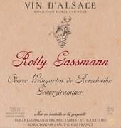 Rolly Gassmann Gewurztraminer Oberer Weingarten 2011
