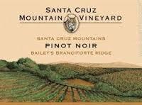 Santa Cruz Mountain Vineyard Pinot Noir Bailey's Branciforte Ridge 2012