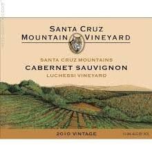 Santa Cruz Mountain Vineyard Cabernet Sauvignon Luchessi Vineyard 2014