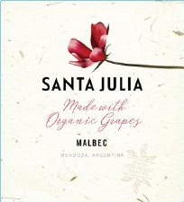 Santa Julia Malbec Organic 2019