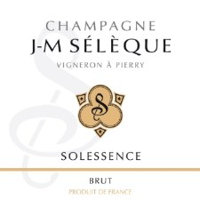 J-M Seleque Champagne Brut Solessence