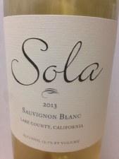 Sola Sauvignon Blanc 2013