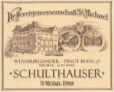 St Michael-Eppan Pinot Bianco Schulthauser 2013