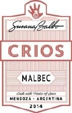 Susana Balbo Crios Malbec 2014