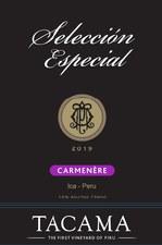 Tacama Carmenere Seleccion Especial 2019