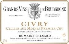 Thenard Givry 1er Cru Cellier aux Moines 2009