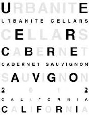Urbanite Cellars Cabernet Sauvignon 2012