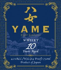 Yame Whisky 10 Years 750ml