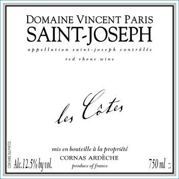 Vincent Paris Saint-Joseph Les Cotes 2017