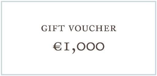 1,000 Euro Voucher