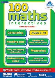 100 Maths Interactives Cd Middle Classes 3rd and 4th Class Prim Ed