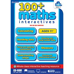 100 Maths Interactives Cd Upper Classes 5th and 6th Class Prim Ed