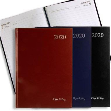 Diary 2020 A4 Page A Day