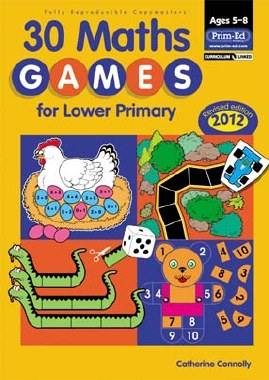 3O Maths Games for Lower Primary Classes 1st and 2nd Class Prim Ed