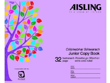Copy Aisling Extra Wide Ruled 32 page ASJ10