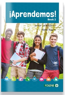 Aprendemos! Book 2 Junior Cert Spanish with free eBook Folens
