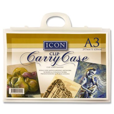 Document Carry File A3 with Handle