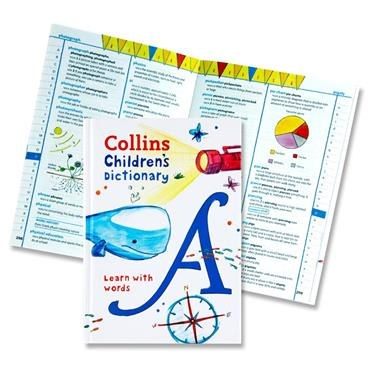 Collins Children Dictionary Learn With Words