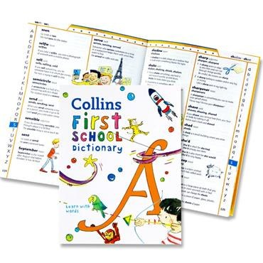 Collins First School Dictionary Learn With Words