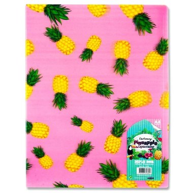 Display Book 40 Pocket 3D Pineapple Expressions