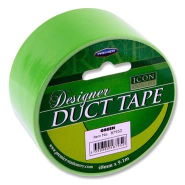Designer Duct Tape 48mm x 9m Green Icon