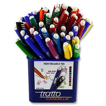 Pen Eraseable Tratto Green
