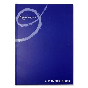Hardback A4 Index Book A-Z Copy Premier