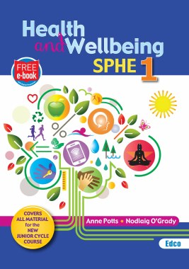 Health and Wellbeing SPHE 1 with Free eBook Edco