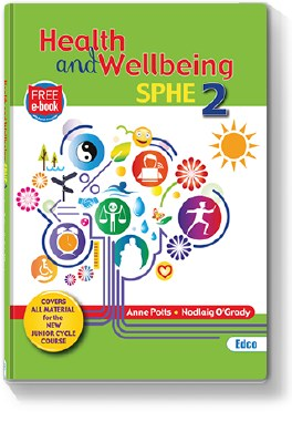 Health and Wellbeing SPHE 2 with Free eBook Edco