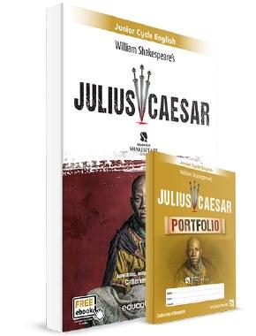 Julius Caesar Text and Portfolio Book with free E Book Educate