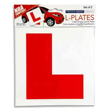 Learner Stickers x 2 Self Adhesive