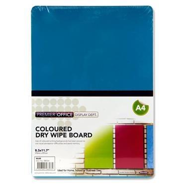 White Board A4 Premier Blue