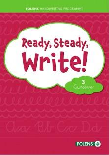 Ready, Steady, Write! 3 Cursive Folens