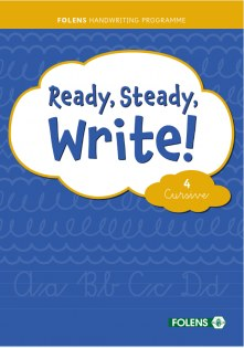 Ready, Steady, Write! 4 Cursive Folens